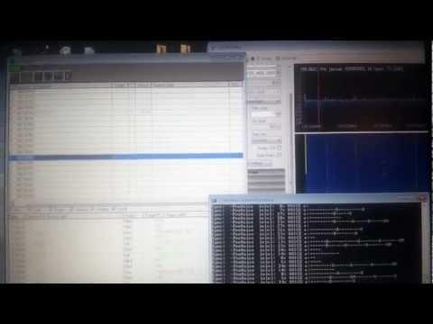 UNITRUNKER+DSD+X2-RTL2832u-tracking Edmonton's analog/digital.edacs system using two dongle