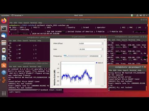 Building a Passive IMSI Catcher
