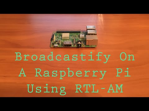 How To Setup Broadcastify On A Raspberry Pi Using RTL_AM For Aviation