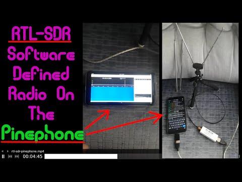 RTL-SDR On The Pinephone! Demo, Installation/Hardware