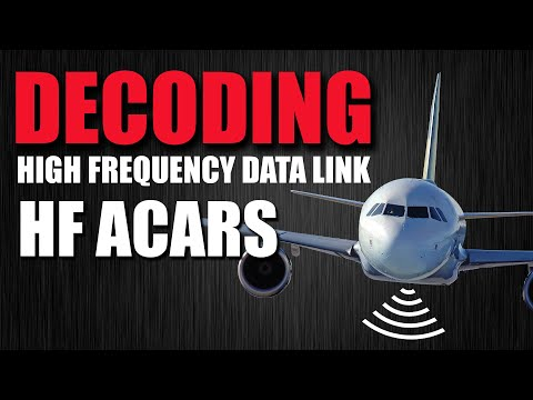 Decoding High Frequency Data Link - HF ACARS HFDL