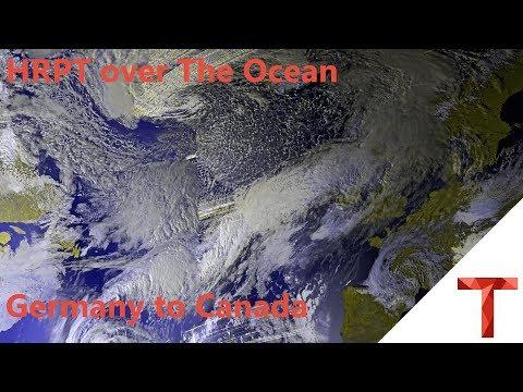 [EN subs] HRPT over The Ocean - Ein Bild von Köln nach Kanada