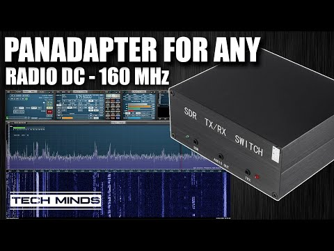 PANADAPTER For Any Radio DC - 160 MHz SDR Antenna Switch