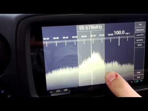 Nexus 7 with DVB-T Tuner