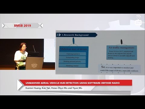 Unmanned Aerial Vehicle Hub Detection Using Software-Defined Radio