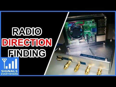 Radio Direction Finding Equipment KerberosSDR Coherent 4 x RTL SDR RDF Setup