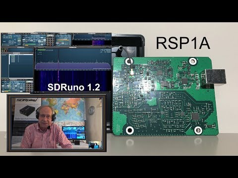 NEW SDRplay RSP1A 14 bit SDR receiver - Interview with Jon Hudson