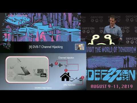 Pedro Cabrera Camara - SDR Against Smart TVs URL Channel Injection Attacks - DEF CON 27 Conference