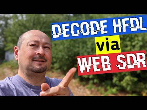 Decoding HFDL ACARS with a WebSDR and PC-HFDL