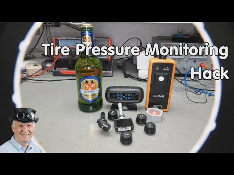 #261 Measure Pressure Remotely (including TPMS Hacking / Attack) for Beer Brewing