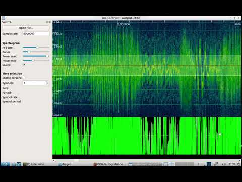 DragonOS LTS DSP and signal analysis with Composable-SDR + Inspectrum (RTL-SDR)