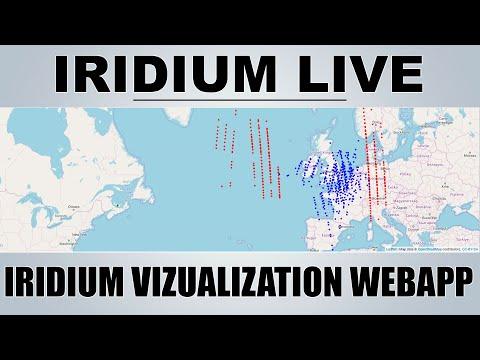 IridiumLIVE - Real Time Visualization Of Iridium Satellites - Raspberry Pi