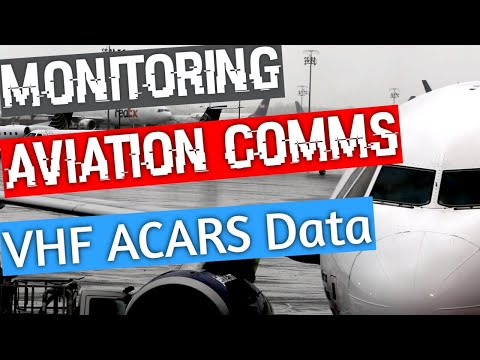 Decoding ACARS on VHF with your SDR Radio - Monitoring Aviation Communications Ep 5