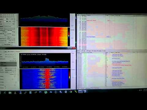 Trunk tracking and voice following with UniTrunker and SDR# using the FCD and RTL2832U+E4000 SDR