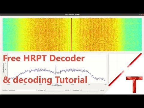 [EN subs] Kostenloser HRPT Decoder (GNU Radio) - Und wie man ihn nutzt