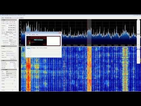 DRM REE Noblejas Radio with RTL SDR (RTL2832), Nooelec Ham It Up Upconverter, SDR Sharp and DREAM