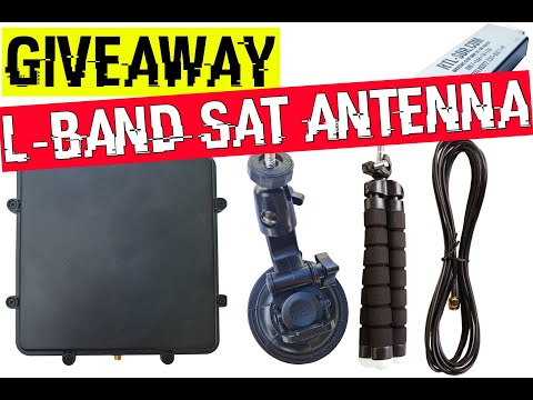 RTL-SDR L-Band Patch Antenna Giveaway