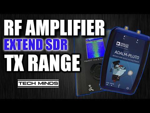 Extend SDR Transmit Range - LimeSDR - HackRF - Adalm Pluto Amplifier