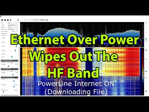 How Ethernet/Internet over Powerline Can Wipe out the HF Band