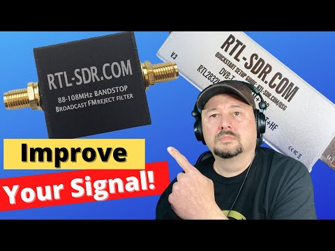 RTL-SDR RF Filters