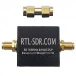 RTL-SDR Blog Broadcast FM Band-Stop Filter