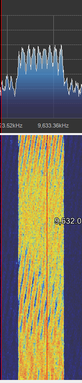 Digital Radio Monodiale Waterfall
