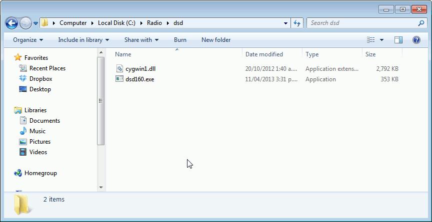 DSD Folder
