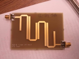 ADSB Hairpin Bandpass Filter
