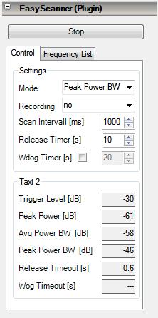 Easy Scanner SDR# Plugin