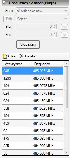 Fast Scanner SDR# Plugin