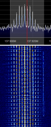 APT Signal Zoomed in