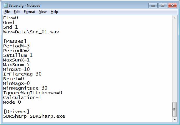 Orbitron Config File Setup
