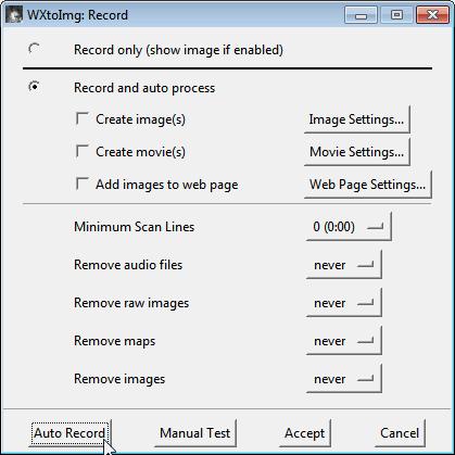 WXtoImg Record Screen