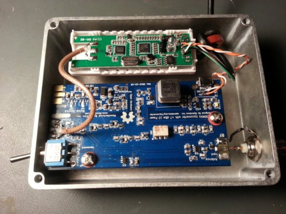 RTL-SDR + Ham-It-Up Upconverter in a Box