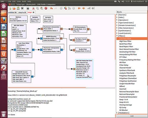 GNU Radio RDS Decoder