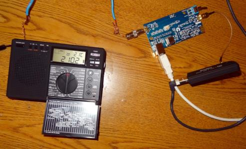 RTL-SDR + Upconverter vs. Portable Shortwave Radio
