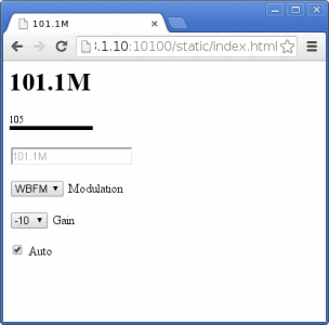 rtl_fm_python web interface