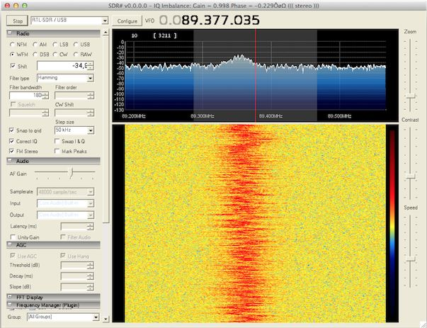 SDR Sharp on OSX