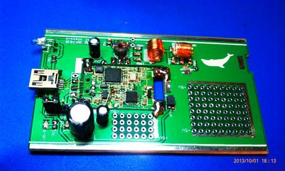 Custom RTL-SDR Kit with 100 KHz to 1 GHz range