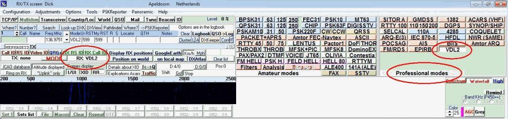 MultiPSK with VDL2