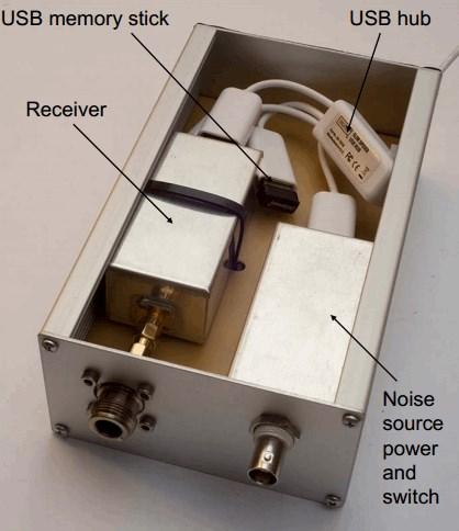 RTL-SDR based Noise Figure Indicator