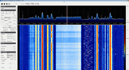 HackRF Receiving in the GSM Band