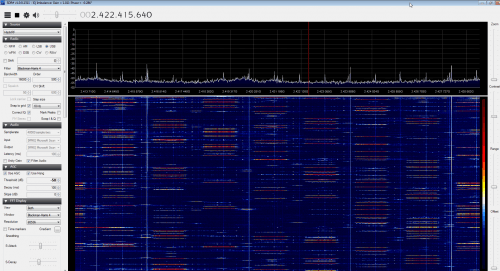 HackRF at 2.4 GHz - Must be WiFi