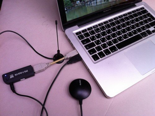 Tools used for making the heatmap: Laptop, RTL-SDR with stock antenna and a GPS.