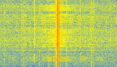 PS3 Data Received with an RTL-SDR and Shown on GQRX