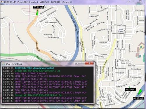 DSD+ V1.5 LRRP GPS Display