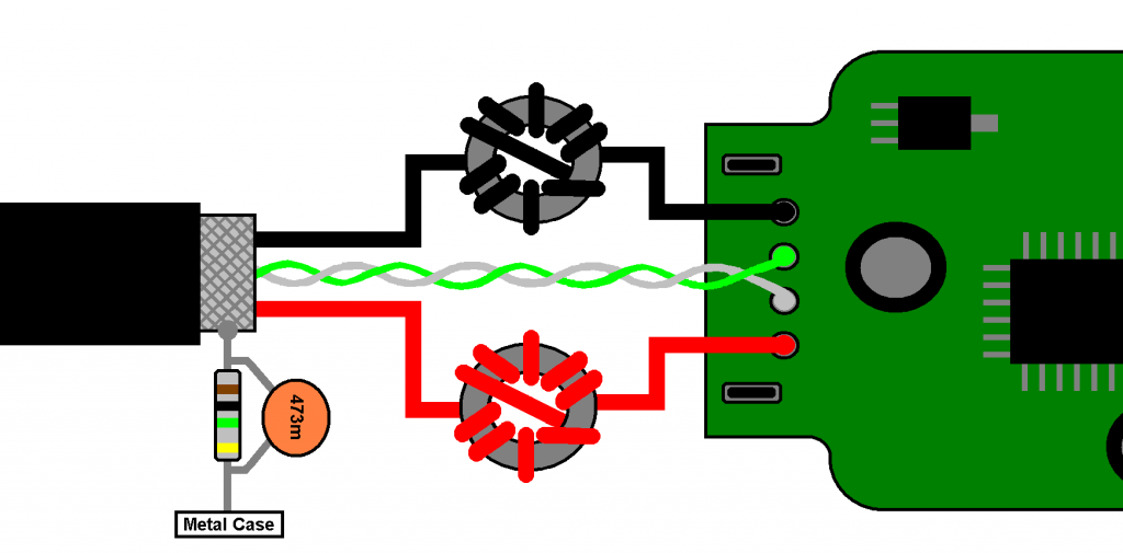 Shielding Wiring Diagram