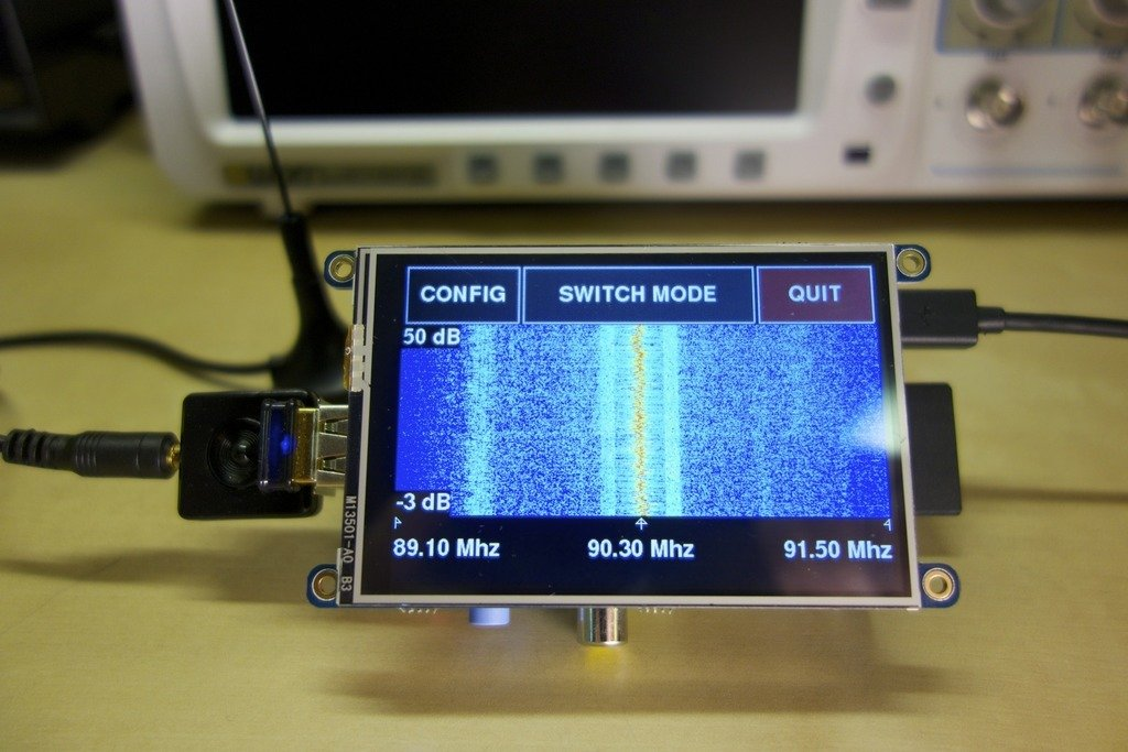 Raspberry Pi RTL-SDR Spectrum Analyzer Scanner