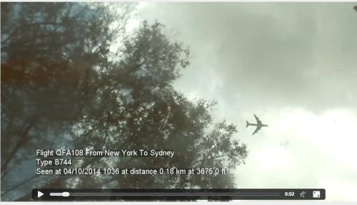 Raspberry Pi RTL-SDR Plane Tracker Video Capture