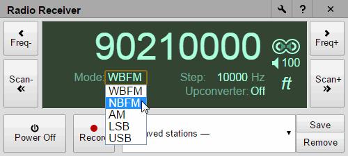 Chrome Radio Receiver